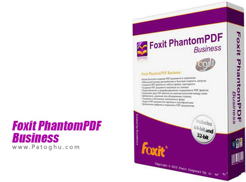 نرم افزار Foxit PhantomPDF Business