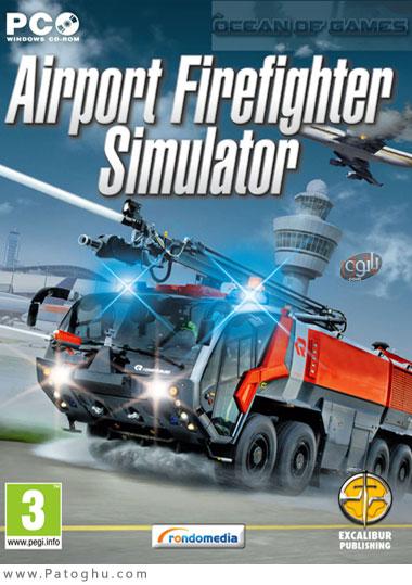 دانلود بازی شبیه ساز آتش نشانی فرودگاه برای کامپیوتر Airport Firefighters