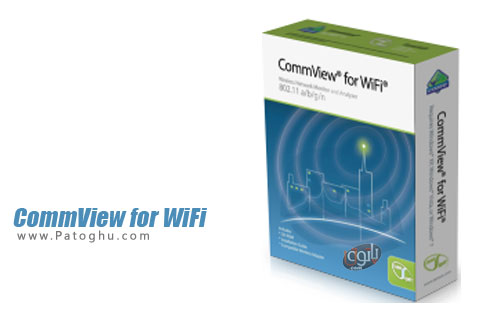 برنامه CommView for WiFi