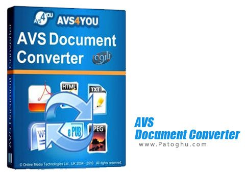 نرم افزار AVS Document Converter