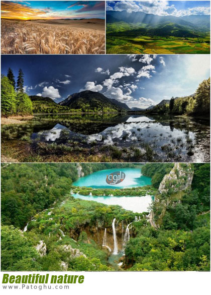مجموعه تصاویر از طبیعت با کیفیت HD برای پس زمینه Beautiful nature