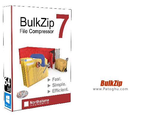 ابزار فشرده سازی سریع و قدرتمند BulkZip 7.4.828.4014