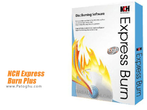 برنامه NCH Express Burn Plus