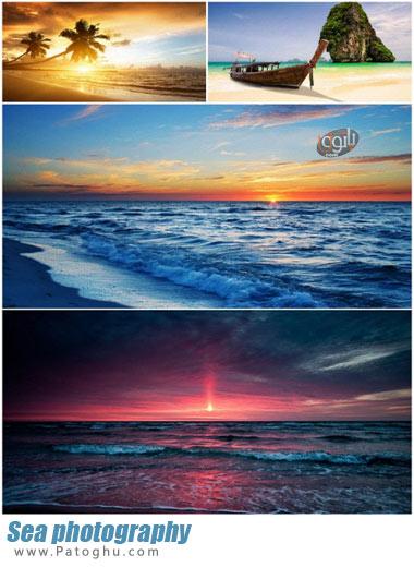 مجموعه تصاویر با کیفیت از دریا و ساحل برای پس زمینه دسکتاپ Sea photography
