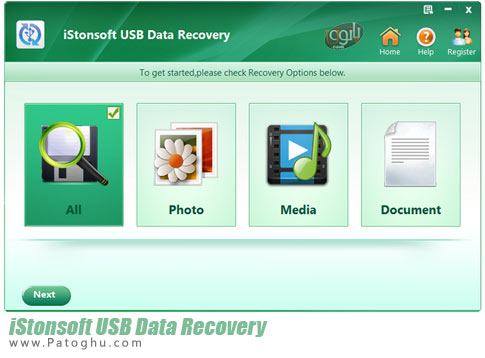 برنامه iStonsoft USB Data Recovery