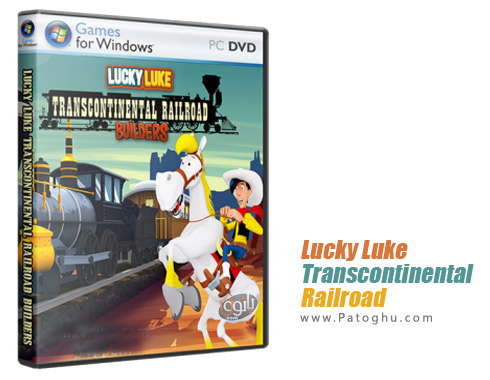 دانلود بازی کم حجم لوک خوش شانس برای کامپیوتر Lucky Luk Transcontinental Railroad Builders