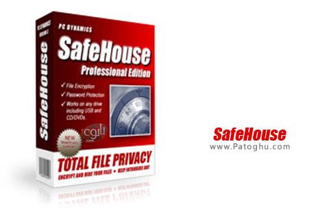 رمزگذاری و مخفی کردن فایل و پوشه ها SafeHouse Professional 3.07.094