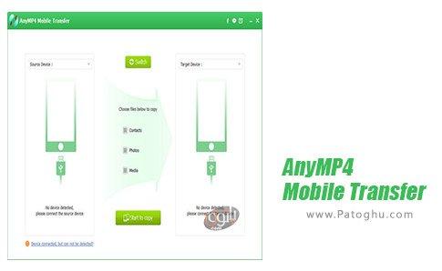 دانلود نرم افزار AnyMP4 Mobile Transfer برای ویندوز