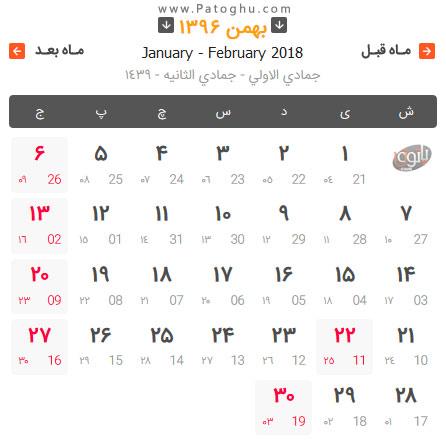 تقویم بهمن 96 همراه با مناسبت ها