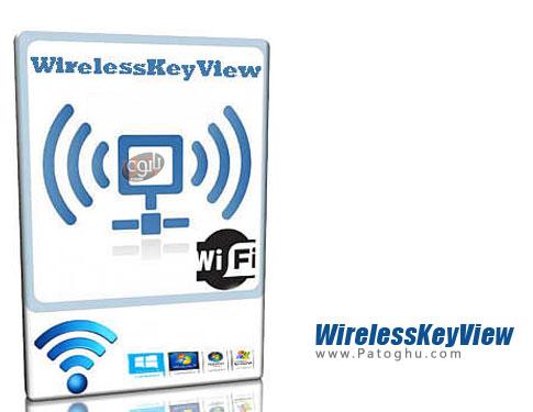 نرم افزار WirelessKeyView