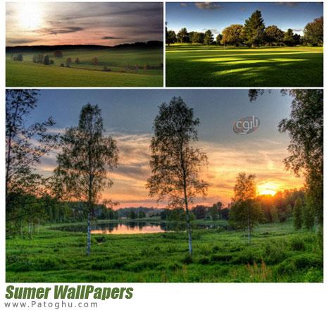 مجموعه تصاویر با کیفیت از طبیت و بهار بررای پس زمینه دسکتاپ Nature Wallpapers