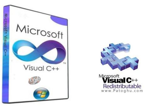دانلود تمامی نسخه های مایکروسافت ویژوال C ++ با Microsoft Visual C++ 2005-2008-2010-2012-2013-2015 Redistributable (x86/x64) 19.08.2016