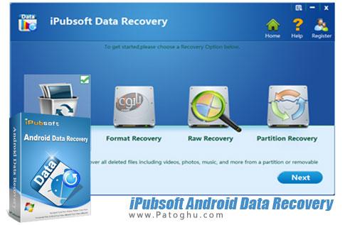 دانلود iPubsoft Android Data Recovery برای ویندوز