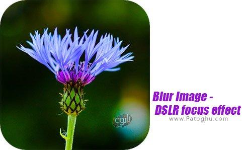 دانلود نرم افزار Blur Image - DSLR focus effect برای اندروید