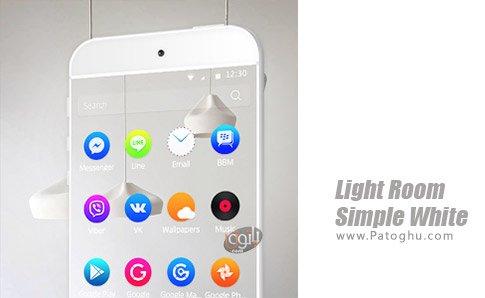دانلود نرم افزار Light Room Simple White برای اندروید