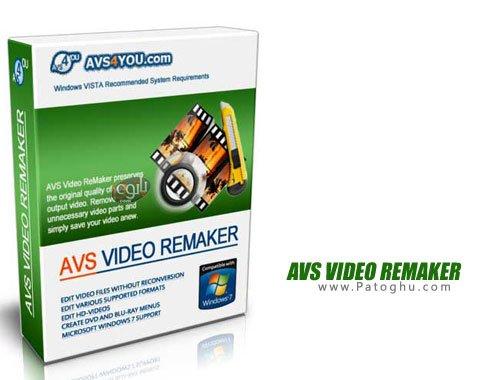 دانلود AVS Video ReMaker برنامه ویرایش فیلم