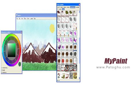 دانلود نرم افزار MyPaint برای اندروید