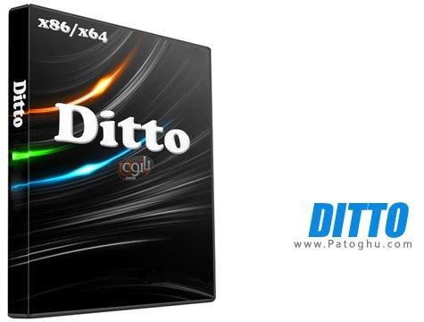 دانلود Ditto نرم افزار مدیریت کلپ بورد ها