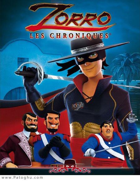 دانلود فصل اول انیمیشن 2017 Zorro the Chronicles افسانه زورو