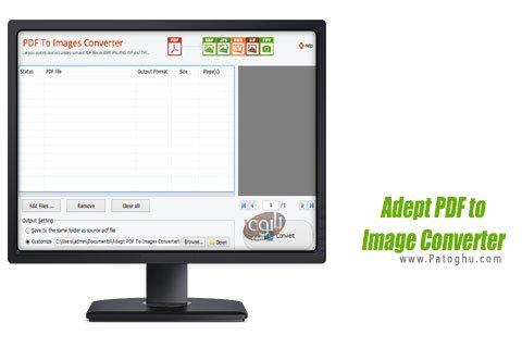 دانلود برنامه Adept PDF to Image Converter تبدیل پی دی اف به عکس