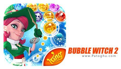 دانلود بازی Bubble Witch 2 Saga جادوگر حباب ها برای اندروید