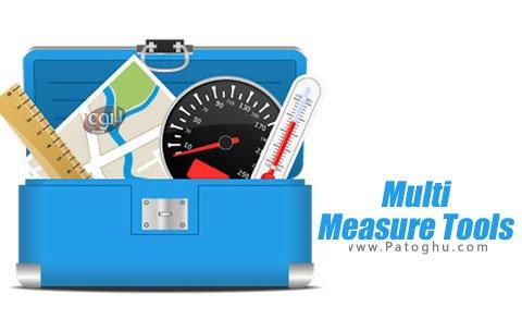 دانلود Multi Measure Tools مجموعه نرم افزار های اندازه گیری برای اندروید