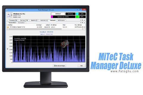 دانلود برنامه مانیتورینگ برنامه های در حال اجرا MiTeC Task Manager DeLuxe