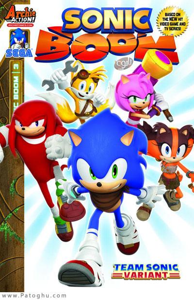 دانلود فصل دوم انیمیشن سونیک Sonic Boom Season 2 2016