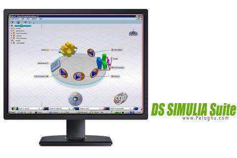 دانلود برنامه شبیه ساز قطعات صنعتی DS SIMULIA Suite