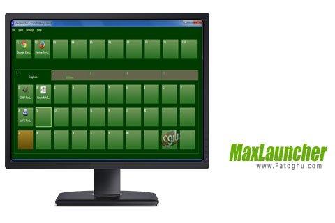 دانلود برنامه دسترسی آسان به برنامه ها در ویندوز MaxLauncher