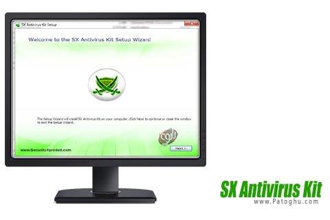 دانلود آنتی ویروس SX Antivirus Kit