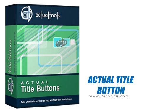 دانلود برنامه شخصی سازی پنجره ویندوز Actual Title Buttons