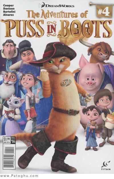 دانلود انیمیشن گربه چکمه پوش فصل چهارم The Adventures of Puss in Boots 2017 Season 4