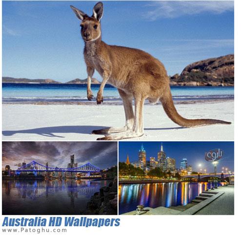 دانلود مجموعه عکس با کیفیت و دیدنی از کشور استرالیا برای پس زمینه دسکتاپ
