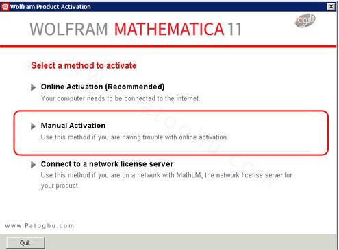 نصب Wolfram-Mathematica