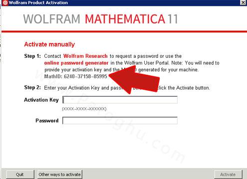 فعال سازی Wolfram-Mathematica