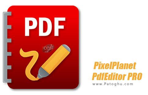 دانلود Portable PixelPlanet PdfEditor PRO برای ویندوز