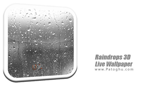دانلود Raindrops 3D Live Wallpaper