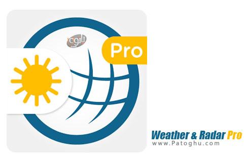 نرم افزار Weather & Radar Pro