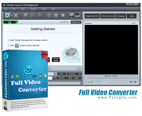 نرم افزار Full Video Converter