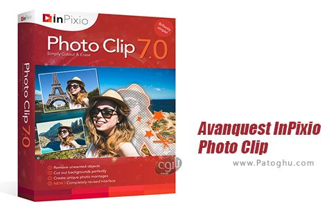 دانلود Avanquest InPixio Photo Clip Professional برای ویندوز
