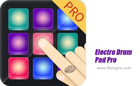دانلود Electro Drum Pad Pro برای اندروید
