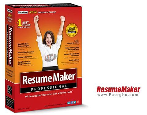 دانلود ResumeMaker Professional Deluxe برای ویندوز