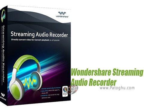 دانلود Wondershare Streaming Audio Recorder برای ویندوز