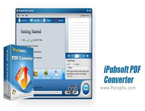دانلود iPubsoft PDF Converter برای ویندوز