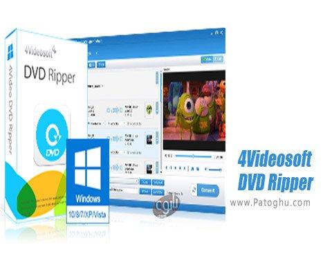 دانلود 4Videosoft DVD Ripper برای ویندوز