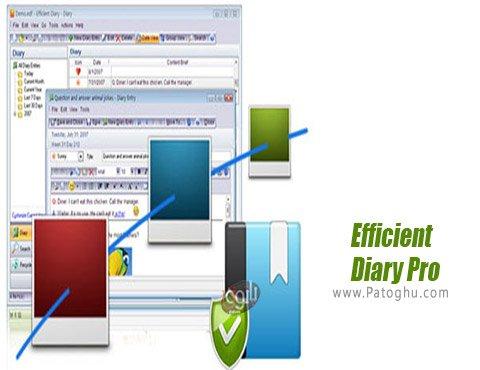 دانلود Efficient Diary Pro برای ویندوز