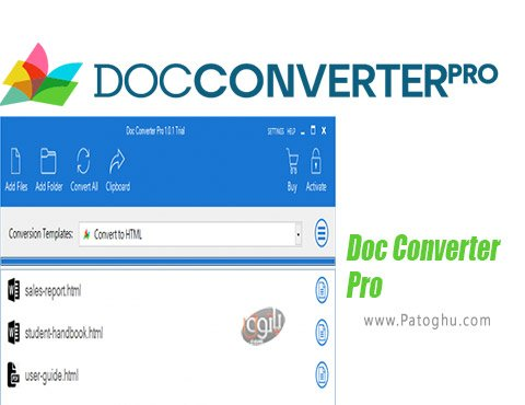 دانلود Doc Converter Pro برای ویندوز