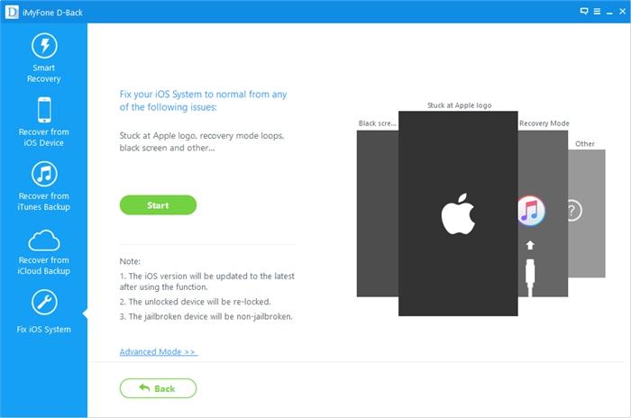 دانلود iMyFone D-Back برای کامپیوتر