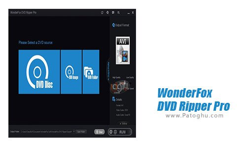 دانلود نرم افزار WonderFox DVD Ripper Pro برای ویندوز
